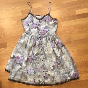 Anthropologie Reformed Strappy Floral Sundress